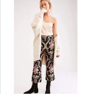 NEW! For Love and Lemons Brocade Flared Pant